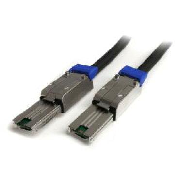 スターテック ISAS88881 ブラック mini SASケーブル 1.0m