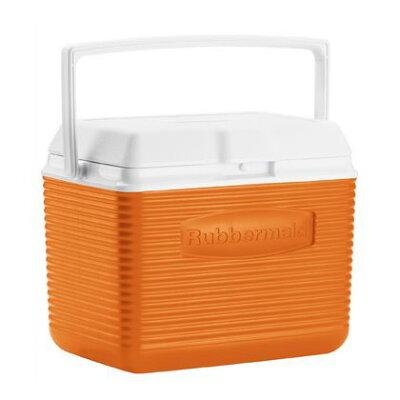 ラバーメイド ビクトリークーラー 10QT オレンジ 横34cm×奥行き23.2cm×高さ26.6cm FG2A1100ORAN