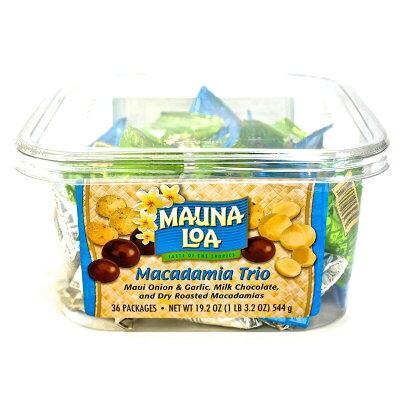 maunaloa マウナロア  マカダミアナッツ トリオ      り