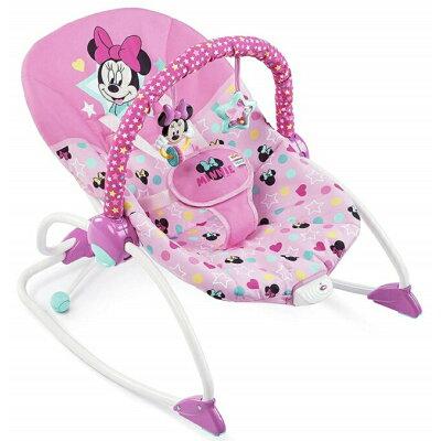 Disney babyディズニーベビー ミニーマウススターズ&スマイルズロッカー ロッキングチェア バウンサー