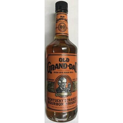 オールドグランダッド スリムボトル 40度 750ml