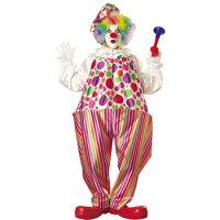 アダルト スナッジークラウン コスチューム Adult Snazzy Clown Costume 15346