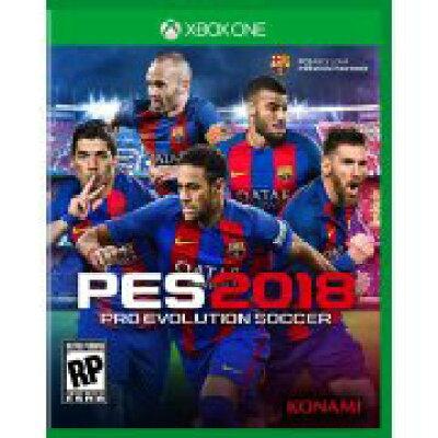 Xbox One 北米版 Pro Evo Soccer 2018 コナミ