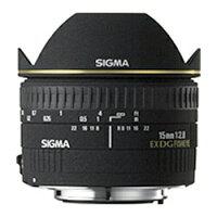 SIGMA 魚眼レンズ 15F2.8EX DG DIAGONAL FISHEYE/N