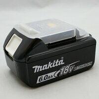 マキタ 電動工具 18V 高容量6.0Ah スライド式バッテリー リチウムイオン BL1860B A-60464