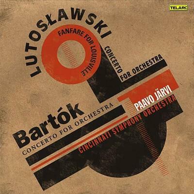 Bartok バルトーク / 管弦楽のための協奏曲、ルトスワフスキ:管弦楽のための協奏曲 P.ヤルヴィ&シンシナティ響 輸入盤