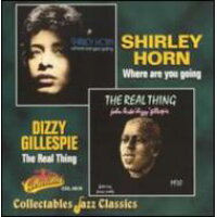Shirley Horn シャーリーホーン / Where Are You Going / Real Thing 輸入盤