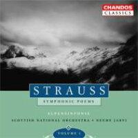 Strauss, R. シュトラウス / アルプス交響曲、英雄の生涯、死と変容、ドン・ファン ヤルヴィ&スコティッシュ・ナショナル管 2CD 輸入盤