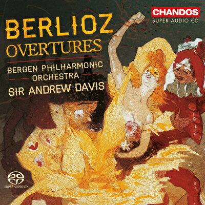 Berlioz ベルリオーズ / 序曲集、ラコッツィ行進曲 A.デイヴィス&ベルゲン・フィル 輸入盤