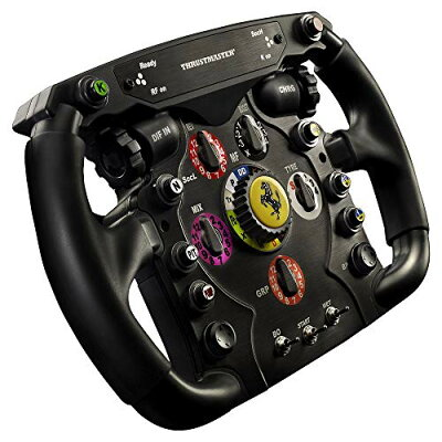 Thrustmaster ジョイスティック Ferrari F1 Wheel Add-On ステアリングホイール ゲームコントローラ KB343 4160571