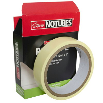 NoTubes YELLOW RIM TAPE 25mm幅/10Yd 約9.14m AS0033