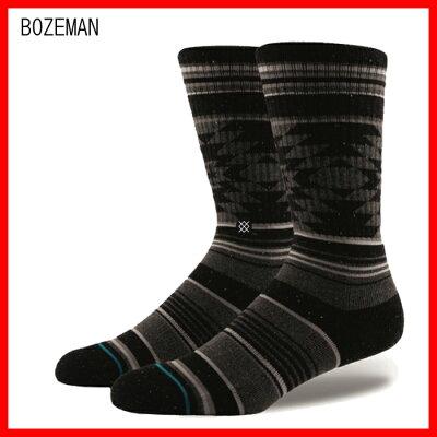 stance メンズボーズマンソックス靴下bozeman sox/l25.5-