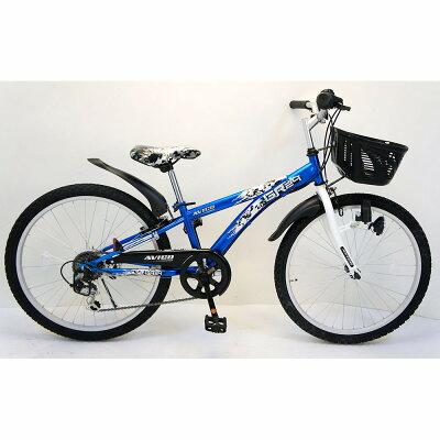 トイザらス AVIGO 24インチ 子供用自転車 GR24  ブルー