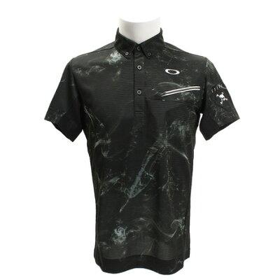 オークリー ゴルフウェア ポロシャツ 半袖 メンズ SKULL MYSTIFY SHIRTS スカルミスティファイシャツ 434177JP OAKLEY