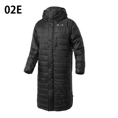 オークリー ロングコート メンズ ENHANCE ウィンド ウォーム ロング コート 8.7 412631JP OAKLEY