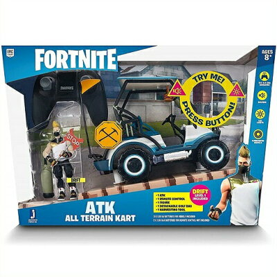 Fortnite ATKビークルとドリフト フィギュアのセット ATK Vehicle with Figure