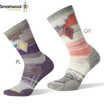 SmartWool スマートウール Ws PhDアウトドアライトパターンクルー/ミディアムグレー/S SW71071
