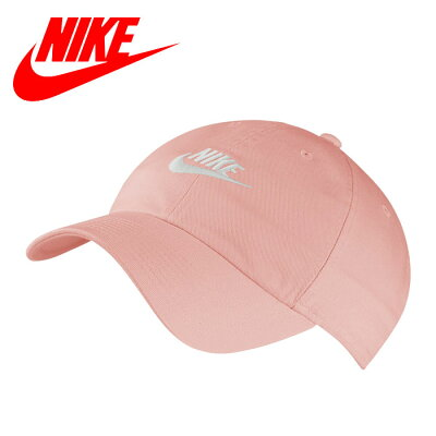 NIKE  ナイキスポーツアクセサリー 帽子 ナイキ H86 フーチュラ ウォッシュド キャップ MISC ブリーチドコーラル 913011 697