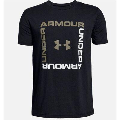 アンダーアーマー Tシャツ 半袖 ジュニア ボックスロゴショートスリーブ 1329099-001 UNDER ARMOUR