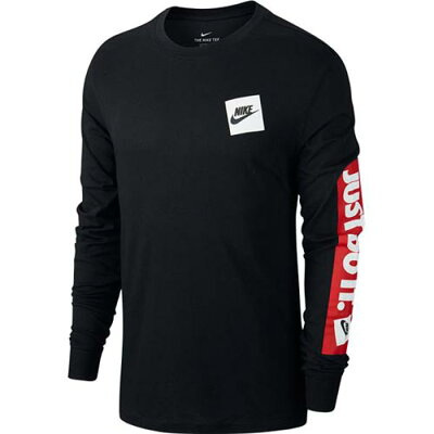 ナイキ NIKE メンズ トレーニングウェア JDI BMPR L/S Tシャツ ブラック CD9599 010
