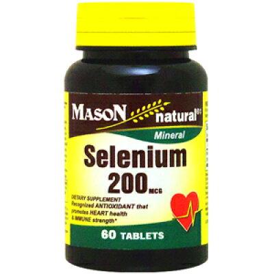 セレニウム(セレン) 200mcg 60粒