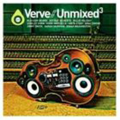 VARIOUS ヴァリアス VERVE UNMIXED 3 CD