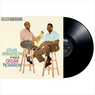 輸入盤 VARIOUS / LOUIS ARMSTRONG MEETS OSCAR PETERSON LP