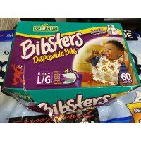 Bibsters Disposable Bibs セサミストリート ビブスター 紙スタイ よだれかけ 60枚 #569473