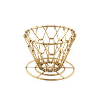 Brass Collapsible Coffee Dripper ブラスコラプシブルコーヒードリッパー 折り畳み式 アウトドア キャンプ DETAIL KIKKERLAND