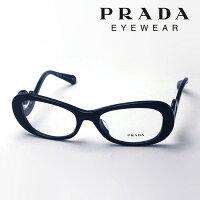 プラダ PRADA 眼鏡 ミニマルバロック PR09PVA 1AB1O1 54 ブラック アジアンフィット MINIMAL BAROQUE レディース メンズ