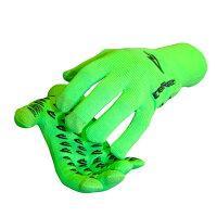 DeFeet ディフィート グローブ Glove ET Touch D-Logo Hi-vis Green Lサイズ