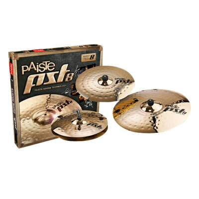 paiste / pst-8 rock set シンバルセット