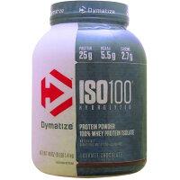 ISO 100 加水分解100% ホエイプロテイン アイソレート グルメチョコレート味 1.4kg 3LB