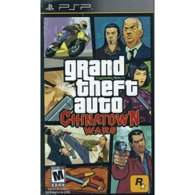 PSP GRAND THEFT AUTO CHINATOWN WARS北米版