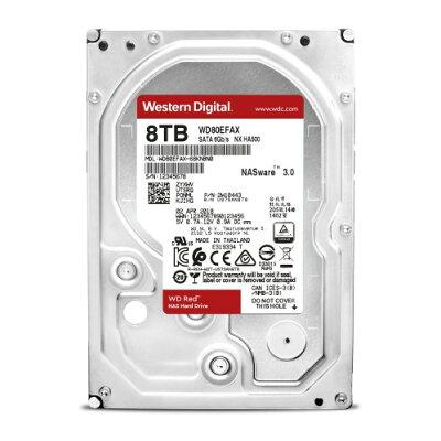 WD  SATA 3.5インチ 内蔵HDD WD80EFAX