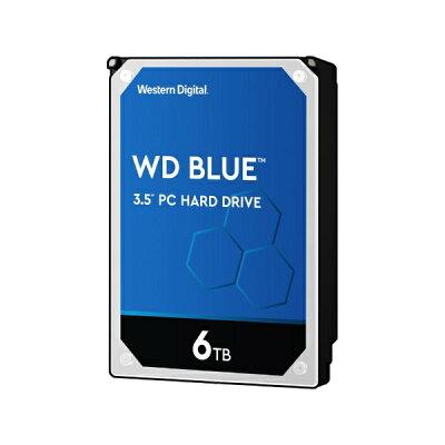 WESTERN DIGITAL ウェスタン デジタル WesternDigital Blue SATA6G 接続 ハードディスク 6TB