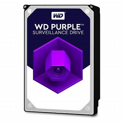 WesternDigital Purple SATA6G接続ハードディスク 8TB WD82PURZ