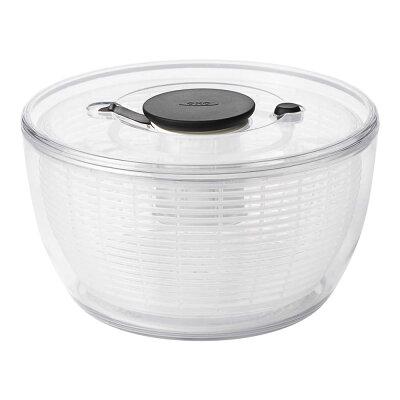 OXO オクソー クリアサラダスピナー 小 NY発 野菜水切り器 1351680