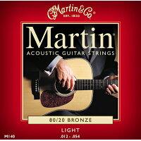 MARTIN マーチン アコースティックギター弦 M140
