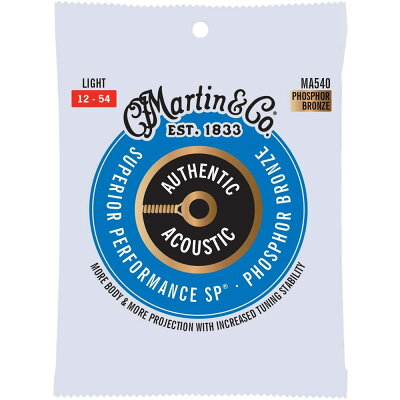 MARTIN MA540 Superior Performance Phospher Bronze Light アコースティックギター弦