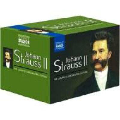 J.シュトラウス 2世:管弦楽作品全集 アルバム 8505226
