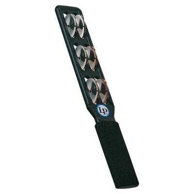 LP エルピー タンバリン Jingle Stick., Steel Jingles, Black LP180