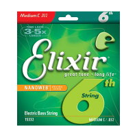 ELIXIR Bass Strings with ultra-thin NANOWEB Coating 6th High-C #15332