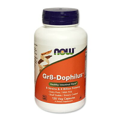 Now Foods Gr 8 Dophilus - Enteric Coated, 120 Vcaps