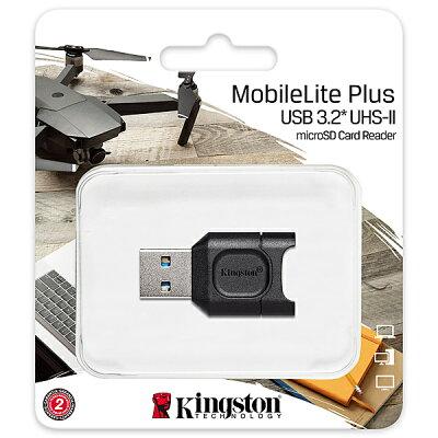 Kingston MobileLite Plus microSDリーダー MLPM
