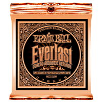 ERNIE BALL 2544 Everlast Coated PHOSPHOR BRONZE MEDIUM アコースティックギター弦