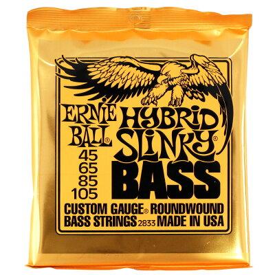 ERNIE BALL Round Wound Bass Strings #2833 HYBRID SLINKY