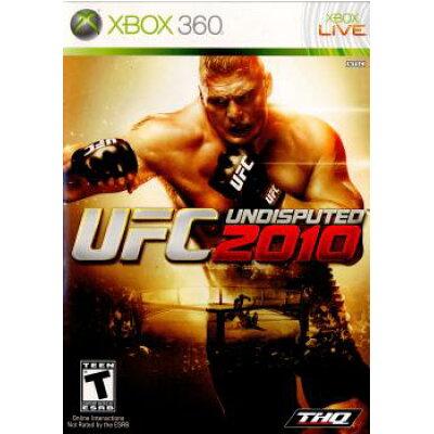 XBOX360ソフト 北米版 UFC UNDISPUTED 2010(国内版本体動作可)