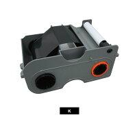 単色リボン 黒型番45102FARGOカードプリンタ DTC1000DTC1250用