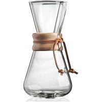 Chemex ケメックス コーヒーメーカー ハンドメイド 3カップ用 ドリップ式 CM-1